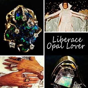 liberace opal collector