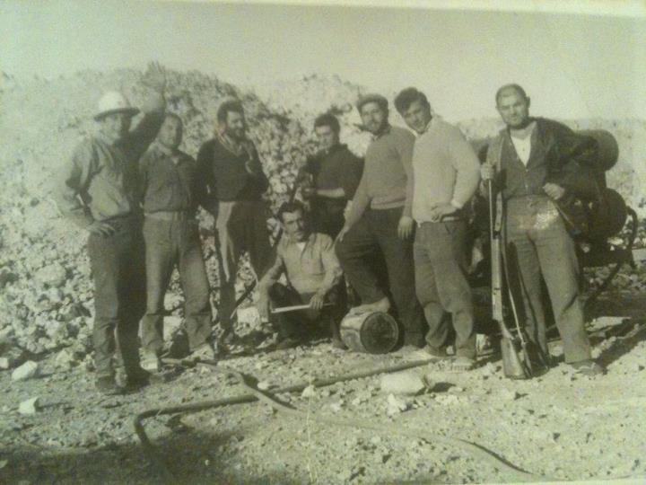Coober Pedy miners c1960